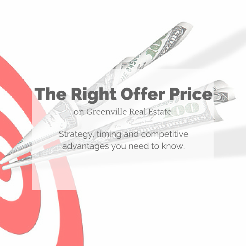 The right offer price for Greenville real estate